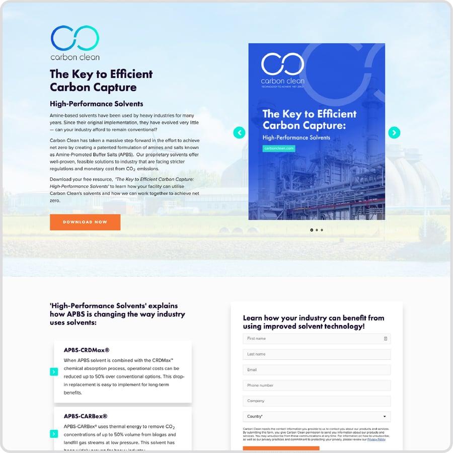 Content_LandingPageExample_CarbonClean