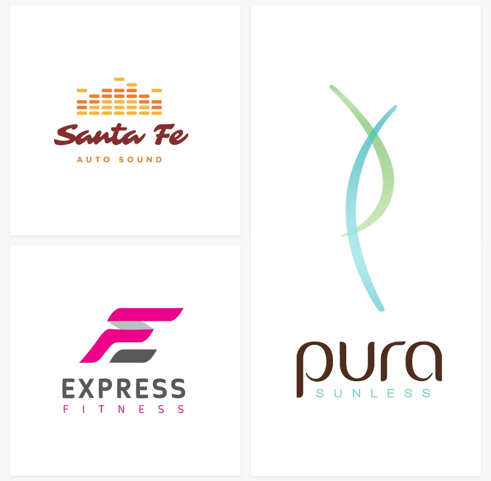 Logo Design Santa Fe Auto Sound - Overland Park