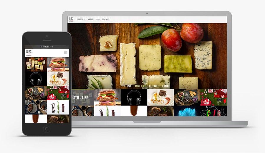 Responsive Photographer Website 2014